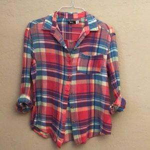 BDG urban outfitters label summer time plaid